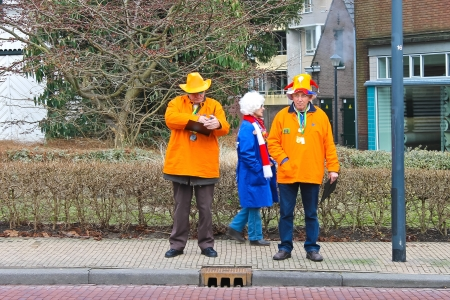 Annual Winter Carnival in Gorinchem. February 9, 2013, The Netherlands Stock Photo - 18113667