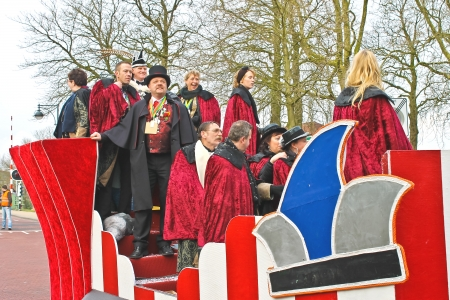 Annual Winter Carnival in Gorinchem. February 9, 2013, The Netherlands Stock Photo - 18113663