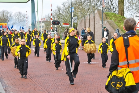 Annual Winter Carnival in Gorinchem. February 9, 2013, The Netherlands Stock Photo - 18113660
