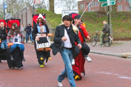 Annual Winter Carnival in Gorinchem. February 9, 2013, The Netherlands Stock Photo - 18114849