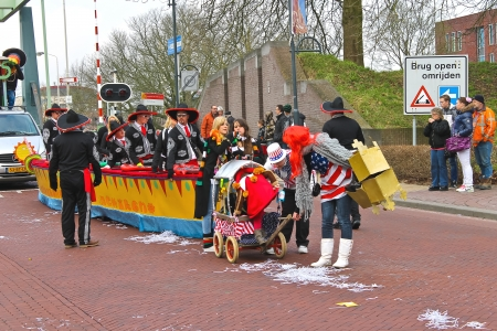Annual Winter Carnival in Gorinchem. February 9, 2013, The Netherlands Stock Photo - 18114888