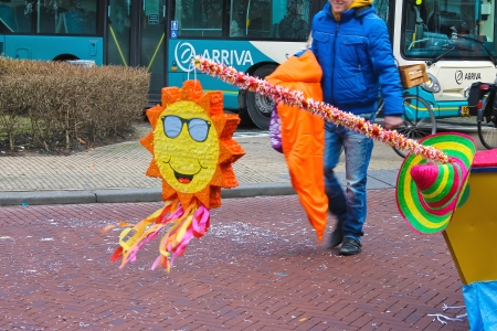 Annual Winter Carnival in Gorinchem. February 9, 2013, The Netherlands Stock Photo - 18114874