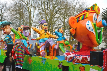 Annual Winter Carnival in Gorinchem. February 9, 2013, The Netherlands Stock Photo - 18114885
