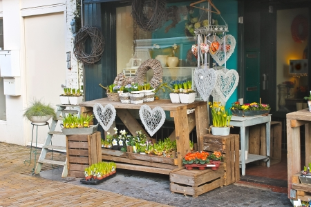gorinchem: Flower shop in Gorinchem. Netherlands