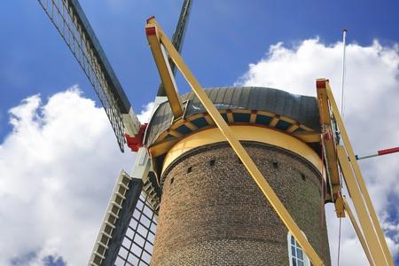gorinchem: Old windmill in the town of Gorinchem. Netherlands