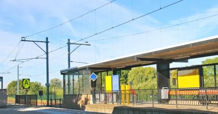 provincial: Perron provincial railway station.
