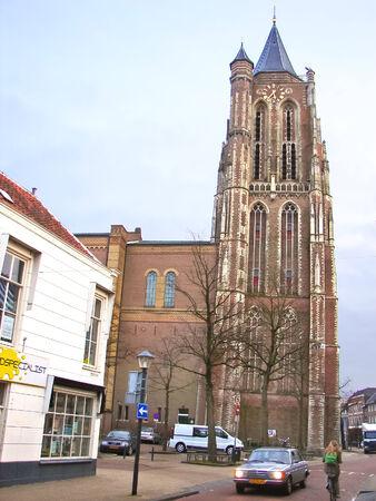 GORINCHEM, THE NETHERLANDS - FEBRUARY 14, 2012 : In the Dutch town in Gorinchem. Netherlands