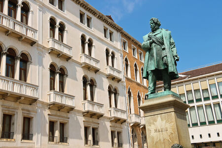manin: Monument of Manin in Venice, Italy