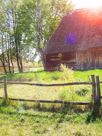 Spring in a Ukrainian village photo