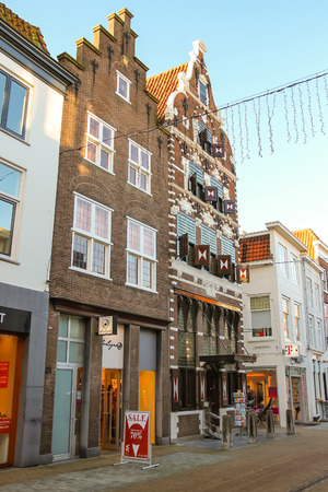 gorinchem: Gorinchem, Netherlands - January 17, 2015: Bookstore  in the Dutch town Gorinchem.