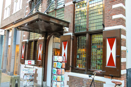 Gorinchem, Netherlands - January 17, 2015: Bookstore  in the Dutch town Gorinchem.
