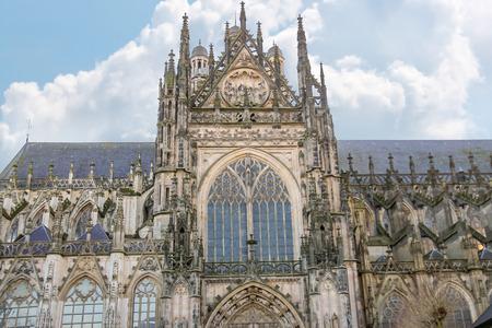 den: Cathedral in the Dutch city of Den Bosch. Netherlands