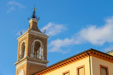 torre: Ancient Clock Tower (Torre dellOrologio) in Rimini, Italy