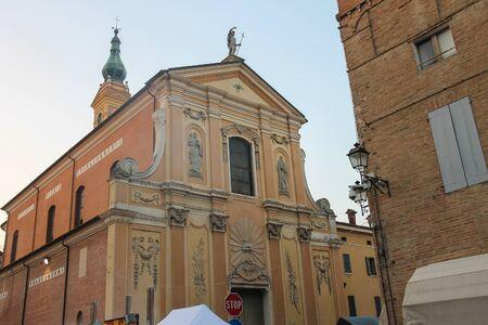 St. John the Baptist church in Spilamberto, Italy