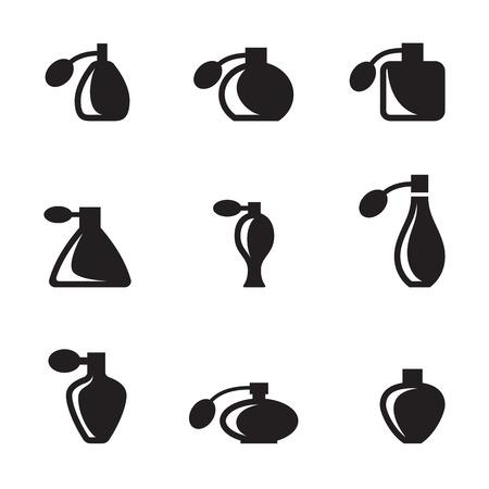 Perfume icon image on white background