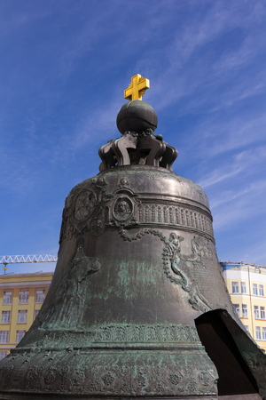 tsar: The Tsar bell is a monument in the Moscow Kremlin Russia