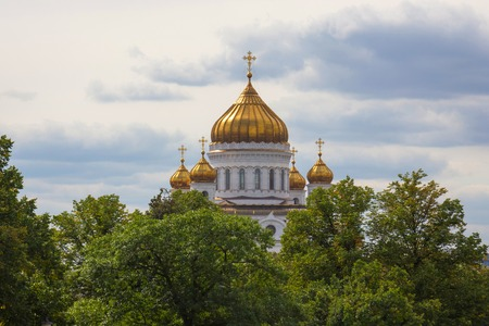savior: view of the Christ the Savior Cathedral of the Moscow