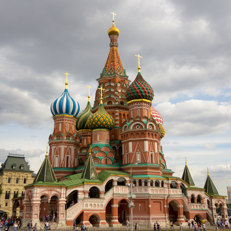 st basil s cathedral: St. Basils Cathedral on Red Square Russia
