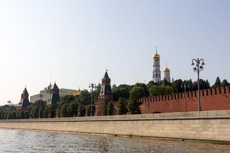 Moscow. View of the Kremlin Zdjęcie Seryjne