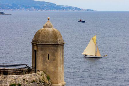 Monaco, Monaco-Ville - June 22, 2018: Oceanographic Museum in Monaco