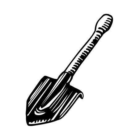 short bayonet sapper shovel
