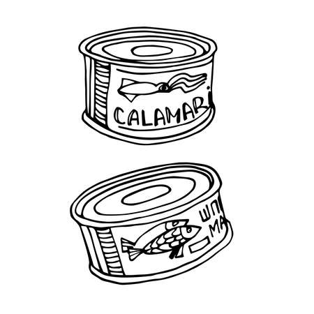 canned fish & squid