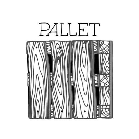 industrial wooden pallet for packaging & cargo transportation
