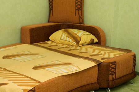 modern brown bed room Stock Photo - 4599382