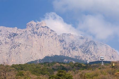Ai Petri mountain. Crimea, Ukraine photo