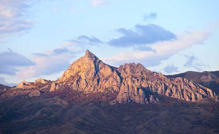 Kara Dag mountain, Crimea, Ukraine photo