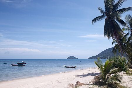 Tropical beach. Koh Tao, Thailand photo