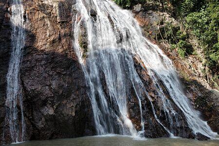 na: Na Muang waterfall, Koh Samui, Thailand