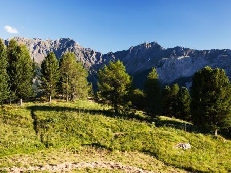 sella: Alpine mountains landscape, Italian Dolomites