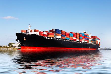 Cargo ship Editorial