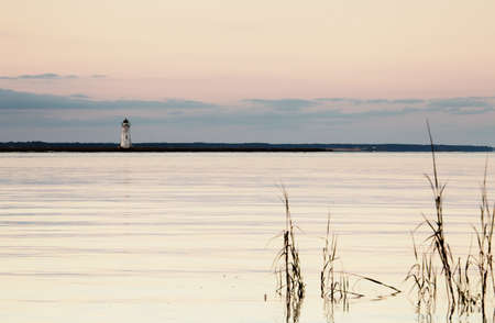 tybee island: Old lighthouse at the Cockspur island, Georgia, USA