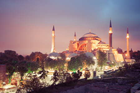 aya: Hagia Sophia museum in Istanbul, Turkey