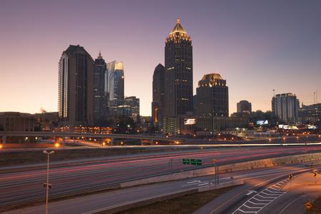 Atlanta skyline, Georgia, USA