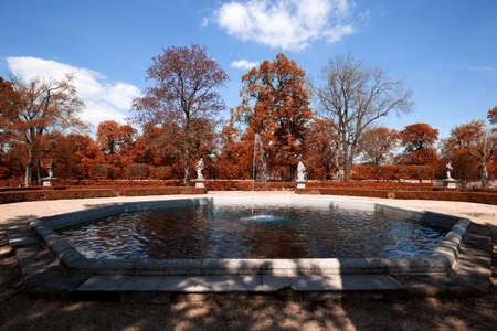 austerlitz: Fountain at the autumn colors park
