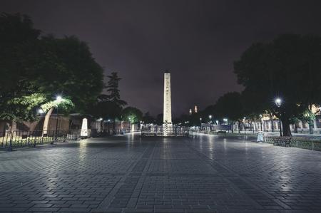 Obelisk at the square, Istanbul, Turkey