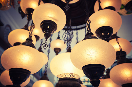 eastern: Eastern style traditional vintage lamp