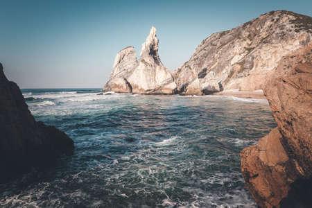 atlantic: Atlantic ocean coastline, Portugal