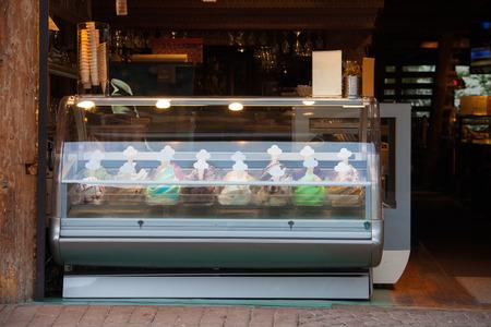 Ice cream street cafe Zdjęcie Seryjne