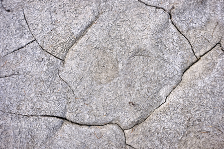 Cracked soil abstract background Stock Photo