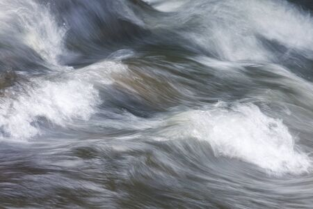 Abstract nature background of water flowing fast