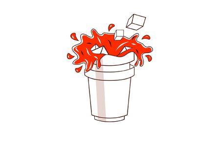fanta cup Reklamní fotografie - 36108227