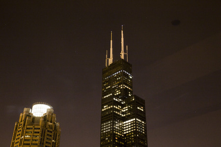 Sears Tower (Willis Tower) Chicago Stock Photo
