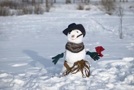 snowman 版權商用圖片