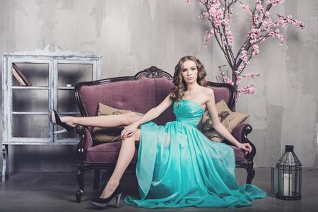 Beautiful luxurious woman photo