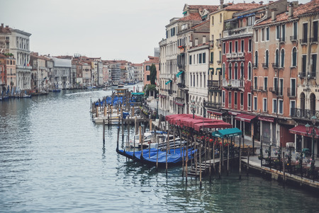 grand canal: Venice, Italy, Grand Canal Editorial