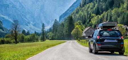 car for traveling Standard-Bild